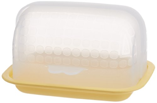 Signoraware Small Butter Box, Lemon Yellow