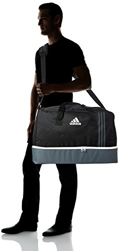 adidas Tiro Team Sporttasche B46124 Mehrfarbig (Black/Dark Grey/White)
