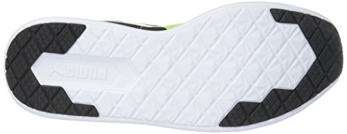 Puma St Trainer Evo Hommes Toile Baskets Puma Black-Safety Yellow