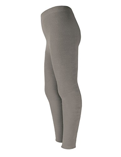 maximo Mädchen Legging Vollfrotteeleggings, Grau (graumeliert 5), 110 (Herstellergröße: 110/116) | 04052393992659
