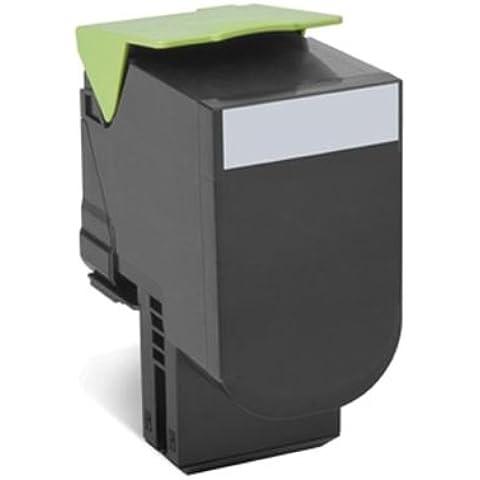 Lexmark 80C2HK0 - Tóner, capacidad 4000 páginas, color negro