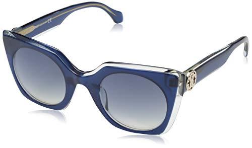 Roberto Cavalli Damen RC1068 92W 48 Sonnenbrille, Blau