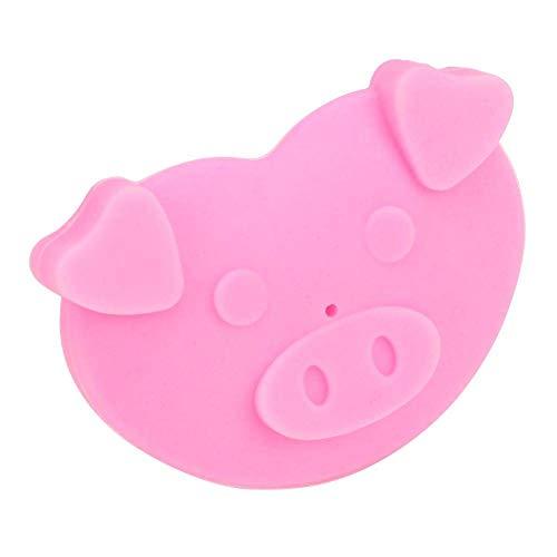 Ruimada Baby Schnuller, Weiche Silikon Schnuller Schnuller Spaß Nippel Schnuller Cartoon Schwein Beißring Baby Spielzeug Badespielzeug Für Gestillte Babys(Pink) - Schwein-schnuller