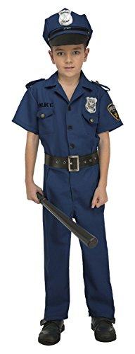 My Other Me - Disfraz de policía para niño, 5-6 años (Viving Costumes 204238)