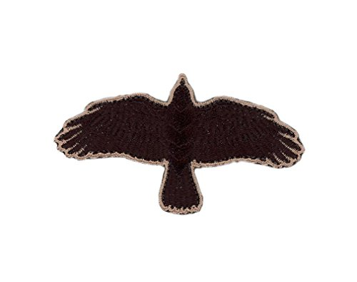 Black Odin Raven Flying Crow Vikings Tactical Morale Airsoft Rucking Patch Iron On Parche Motero Táctico Airsoft Bordado Termoadhesivo Hecho Por Titan One Europe