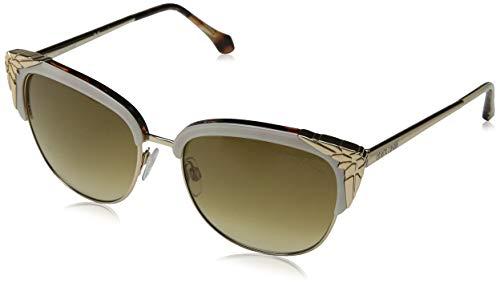 Roberto Cavalli Damen RC1014 25F 56 Sonnenbrille, Gold,