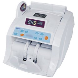 Maxsell Heavy Duty Note Counting Machine With Fake Note Detection-RBI Approved. Model - MX50I - White