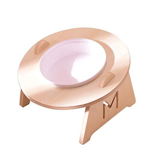 Pet Bowl, Schutz Cervical Ceramic Cat Bowl Esstisch Oblique Katzenfutter Bowl Dog Rice Bowl Katzenfutter Double Bowl Dog Bowl Supplies (Size : A) -