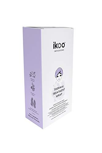 ikoo Infusions Thermal Treatment Wrap (5er Pack) - Haarmaske, pflegende Haarkur, irritierte Kopfhaut, geschädigtes Haar, Feuchtigkeit, Haarpflege für trockene, kaputte Haare - 5 Wraps