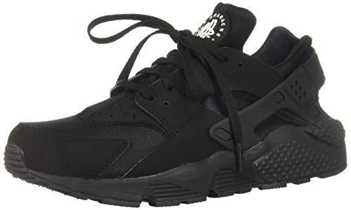 Nike Herren AIR Huarache Sneaker, Schwarz Black-White), 42.5 EU