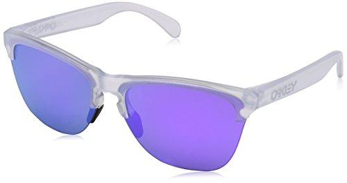 Oakley Herren Frogskins Lite 937403 Sonnenbrille, Braun (Matte Clear), 63