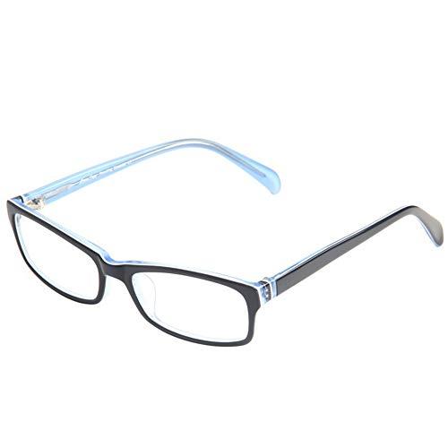 Z&HA Anti-Müdigkeits-Lesebrille für Damen und Herren, hochauflösende Gläser, ultraleichte Retro-Lesebrille mit hochwertigem Plattenrahmen, Lesebrille für Büroräume + 100 bis + 350,02,+200