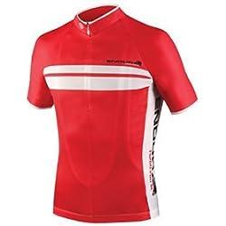 Endura fs260de Pro SL Camiseta de manga corta para hombre de carreras camiseta talla L rojo