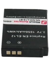 Batterie pour NIKON COOLPIX S8000, 3.7V, 950mAh, Li-ion