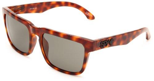 Spy Damen Helm Rechteckig Sonnenbrille, Brown