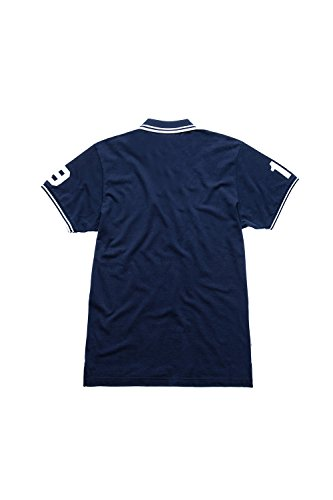 Franklin & Marshall - Polohemd POMF140ANS17 für mann, mit aufdruck, mit aufgedrucktem logo 0167 - NAVY
