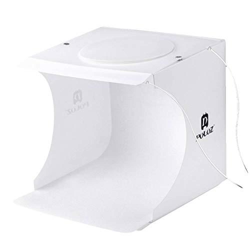 Preisvergleich Produktbild Morza PULUZ 20 LEDs Tragbare Falten Kleine Foto Light White Box für Spielwaren/Uhren / Schmuck/Kleinteile