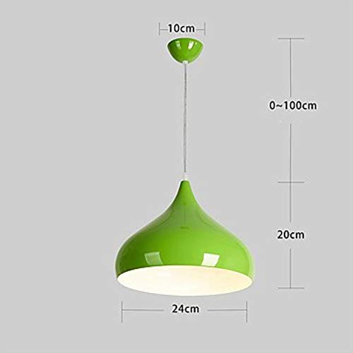 DDdawanjia Modern/Contemporary Designer Max 60W lamp Living Room/Dining Room/Kitchen/Bedroom/Study/Office, Black,Green - Kronleuchter 60w Art