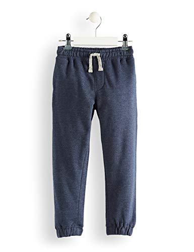 RED WAGON  Pantalones de Deporte Niños, Azul (Navy Marl), 122 (Talla