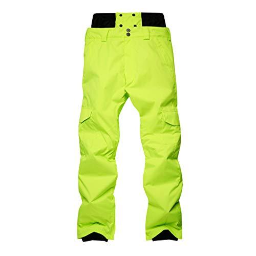 Queenhairs Pantalones esquí Invierno Hombres Pantalones