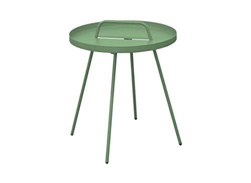 Proloisirs Table Basse en Acier Flower 44 cm