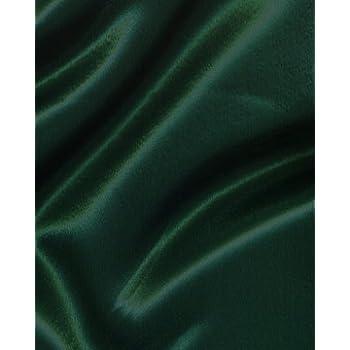 368a95d2d2d54 DARK GREEN / BOTTLE GREEN POLYESTER SILKY SATIN FABRIC **FREE UK POST**