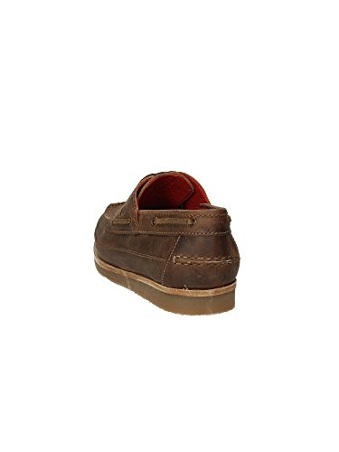 Lumberjack Lower Deck 1422 H01 Taupe, Chaussures bateau pour homme Marron Marrone Marron - Taupe