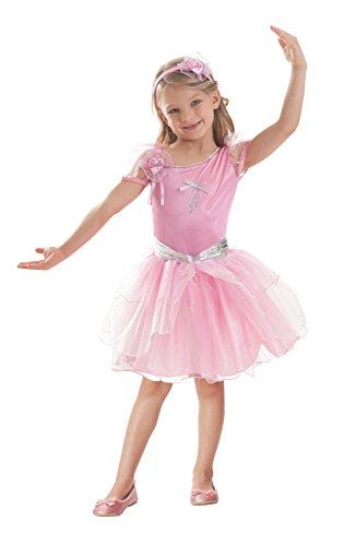 amscan BarbieTM Ballerina-Kostüm für Mädchen - 3-5 Jahre (Barbie Erwachsene Kostüm)