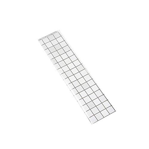 Vosarea Mosaik Selbstadhensive Tapete Anti Öl wasserdichte Wandaufkleber Home Küche Wanddekor (Weiß)
