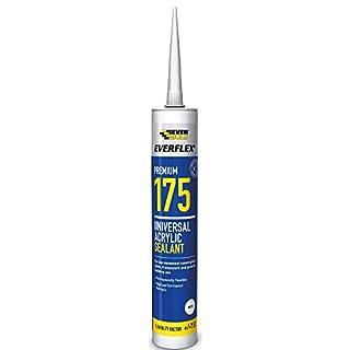 Everbuild 175 C3 310ml Universal Acrylic Sealant, White