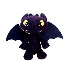 Play by Play - Krokmou Toothless Night Fury 30cm Peluche Dragons 2