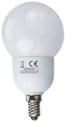 Hartig + Helling ESL845G Energiesparlampe Mini-Globe / Fassung E14 / 7 Watt dimmbar von Hartig+HellingGmbH+Co.KG auf Lampenhans.de