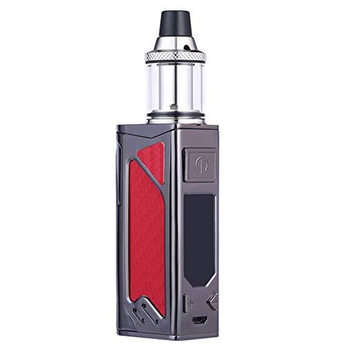 Hopeson E Shisha Starterset,Elektrische Zigaretten Kit Regelbare Watt LED Bildschirm Mit 2200mAh Eingebaute Akku 3.5ml Verdampfer Ohne Nikotin