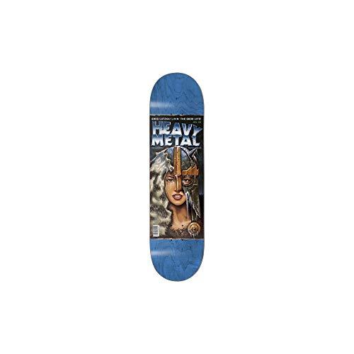 Darkstar Skateboard-Brett/Deck, Heavy Metal 2, 21,6 cm