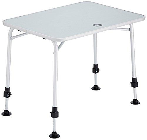 10T Campingtisch Flaprack  2 - 4 Mann Klapptisch stabiler 80x60 cm Garten-Tisch mit Teleskop Beinen - Zubehör Picknick-tisch