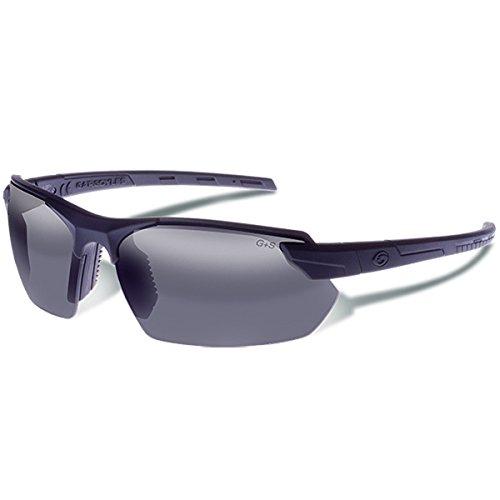 Gargoyles 9005304 Vortex Sonnenbrille Matt Schwarz/Smoke