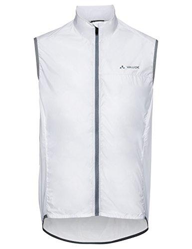 VAUDE Herren Air Vest III Weste, White, XL