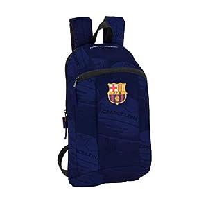 Safta –FC Barcelona Ball Oficial Mini Mochila Uso Diario 220x100x390mm