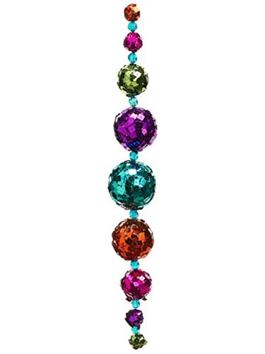 allstate-unlit-multicolored-sequined-disco-ball-christmas-garland-24-by-allstate