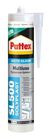 Pattex Silicone SL500 Cinza 300 ml