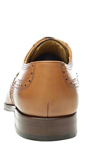 SHOEPASSION.com , Chaussures de ville à lacets pour homme Marron Marron Marron - Marron