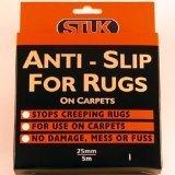 STUK - Cinta antideslizante para moquetas y alfombras