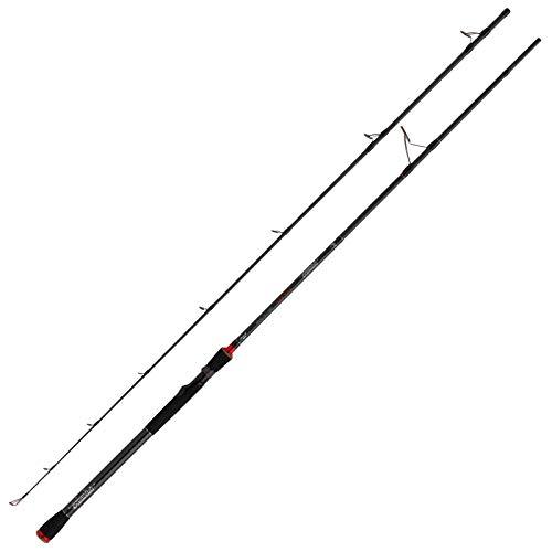 Fox Rage Prism Pike Spin Rod 240cm 30-100g - Spinnrute zum Hechtangeln, Hechtrute zum Spinnfischen, Gummifischrute, Raubfischrute