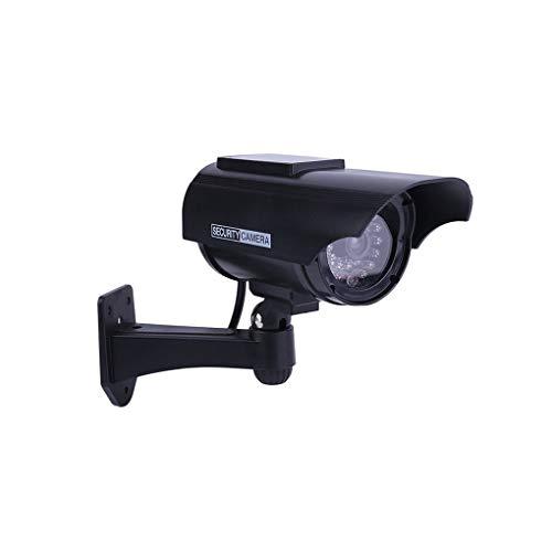Demino Gefälschte Kamera Sonnenenergie-Außen Simulation Dummy-Kamera wasserdichte Sicherheit CCTV-Überwachung-Nocken