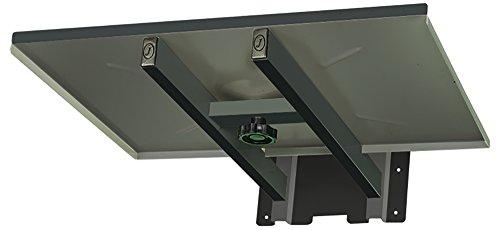 Jenefas & Jenefas Steel Wall Mount for Micro Oven (Black)
