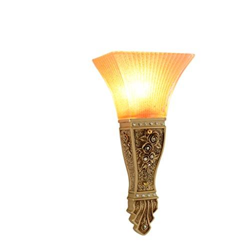 Guo Lampe européenne mur Lampe de chevet Applique Creative Chambre Applique Salon Balcon Aisle Escaliers Applique