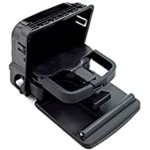 Ocamo Consola Central del Coche apoyabrazos Trasero portavasos Caja para VW Jetta Golf Accesorios de Coche