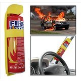 #7: Decode Fire stop sprey Fire Extinguisher with stand for cars , Home and Offices {500ml}