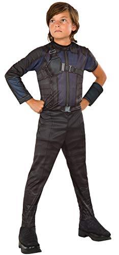 Rubie 's offizielles Marvel Hawkeye Civil War Kostüm für Kinder -Größe - Bogenschießen Kostüm Für Jungen