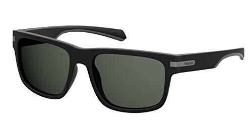 Polaroid Eyewear PLD 2066/S Montures de lunettes Noir (MTT Black), 55 Mixte Adulte